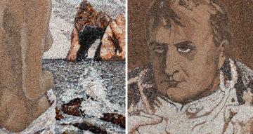 Уникальные картины из песка и ракушек от Светланы Иванченко