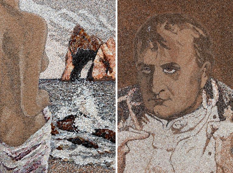 Унікальні картини з піску і черепашок від Світлани Іванченко