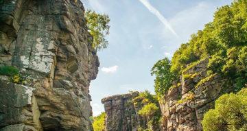Букский каньон, или Как попасть в Норвегию, не покидая Украины