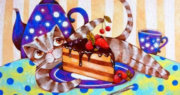Ін'єкція щастя за допомогою картин Дар'ї Денисової