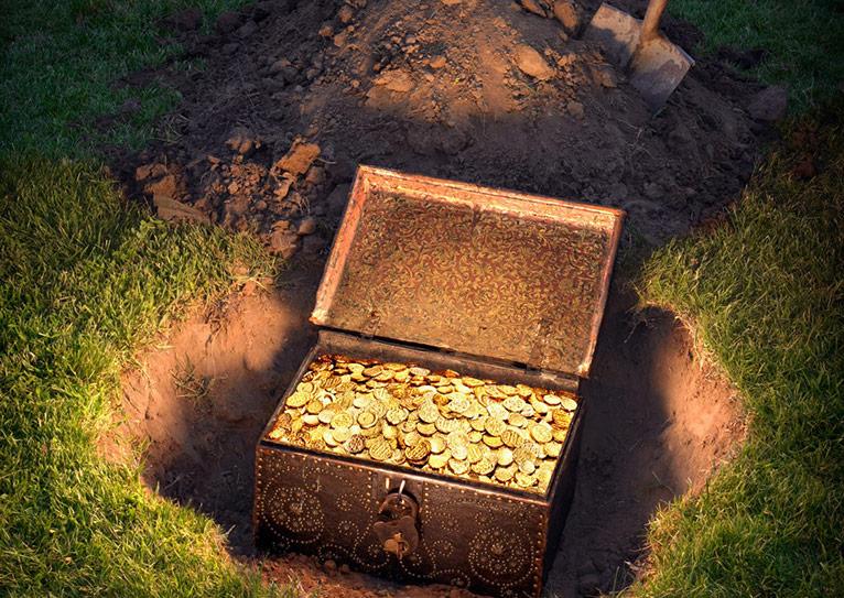 11 самых разыскиваемых кладов Украины